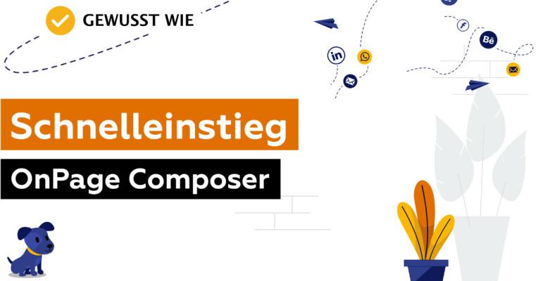 Schnelleinstieg in den JTL5 OnPage Composer