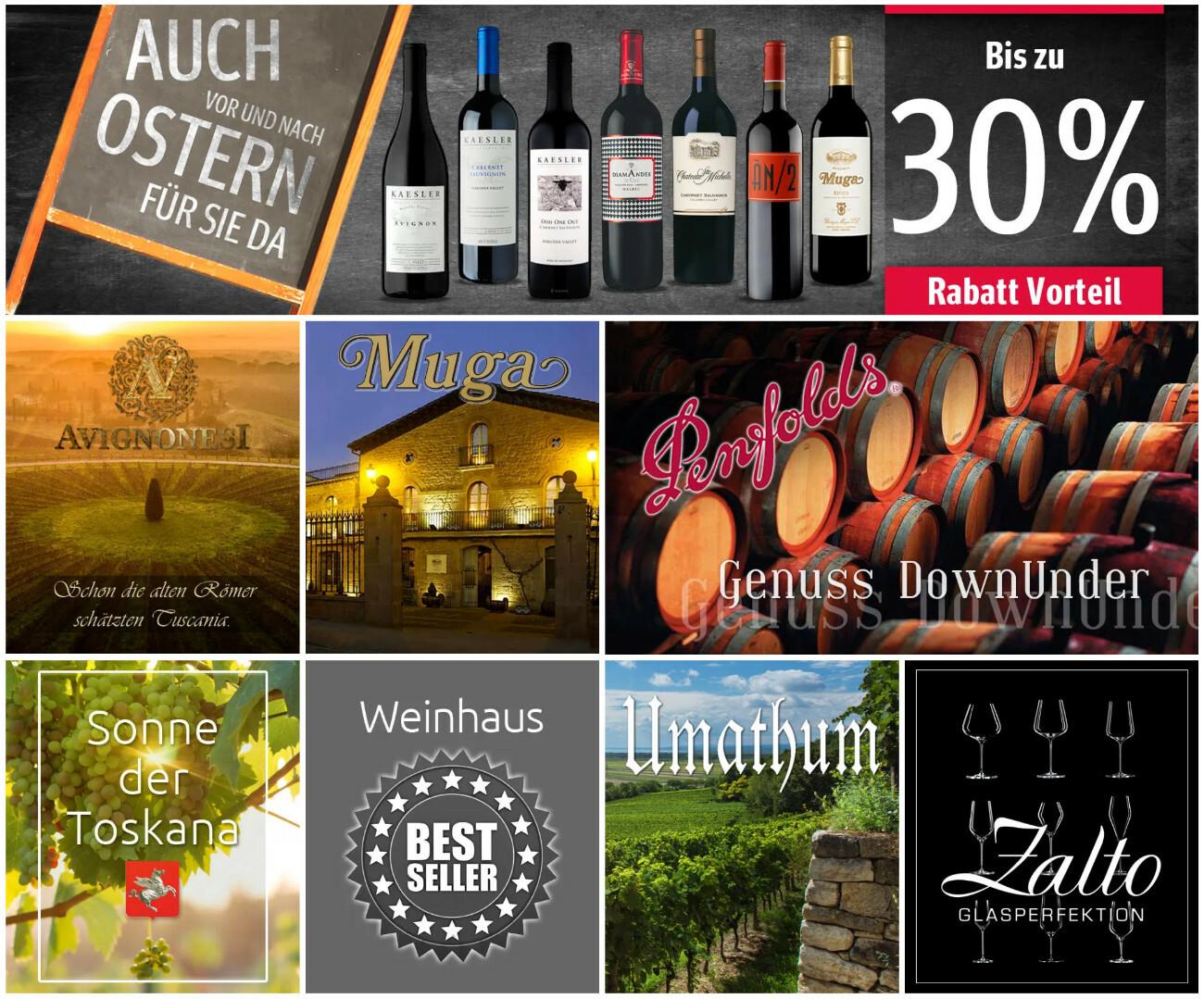 Winery Produktwelten