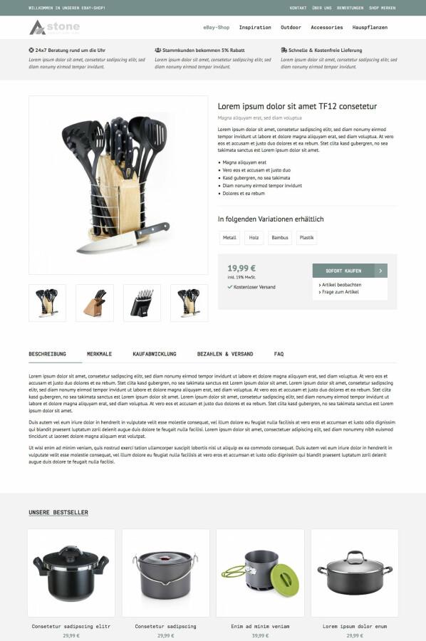 Astone - eBay Vorlage