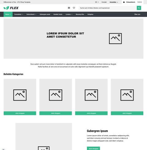 Flex - JTL-Shop 5 Template