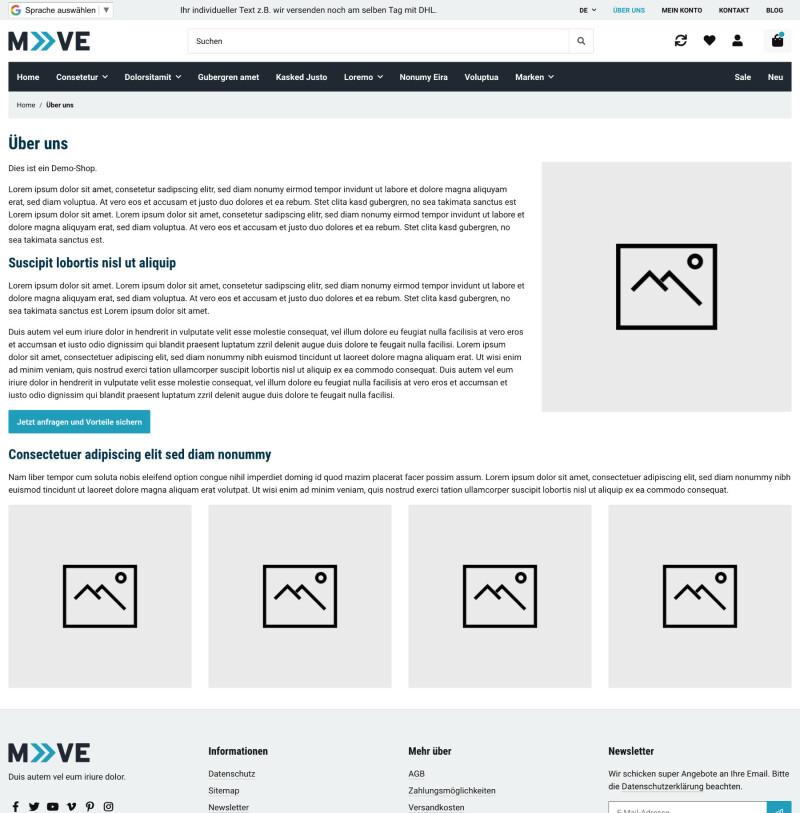 Move - JTL-Shop 5 Template