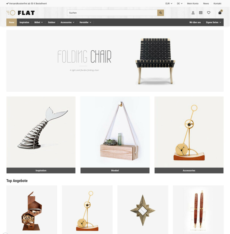 Flat - JTL-Shop 5 Template