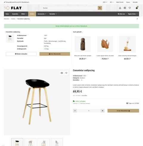 Flat - JTL-Shop 5 Template