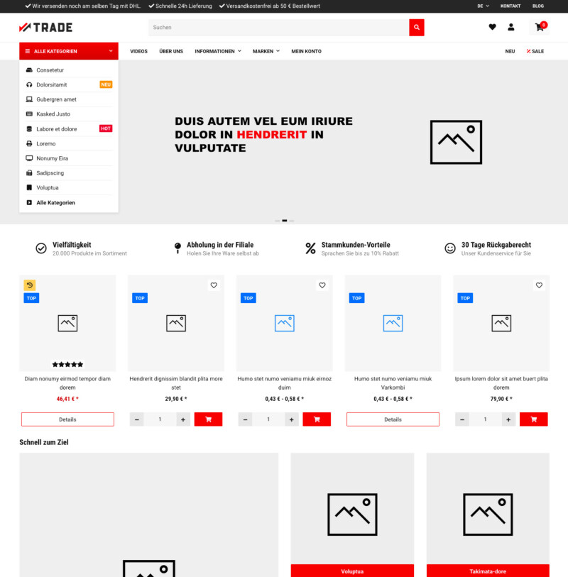 Trade - JTL-Shop 5 Template