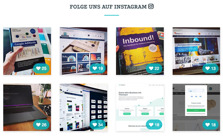 Instagram Feed - JTL-Shop Plugin